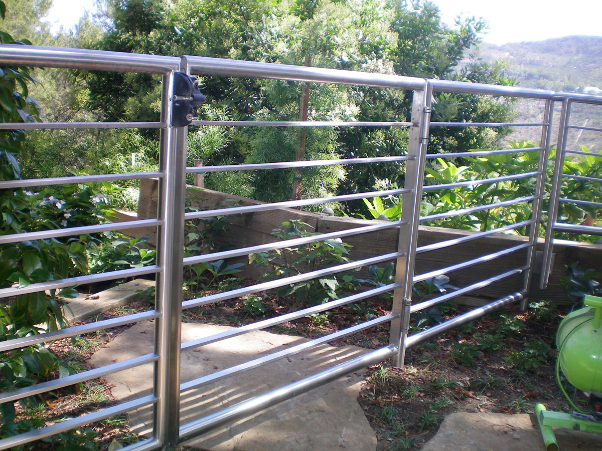 Design and fabrication of custom metal gates fences stainless steel gate workwithnaturefo